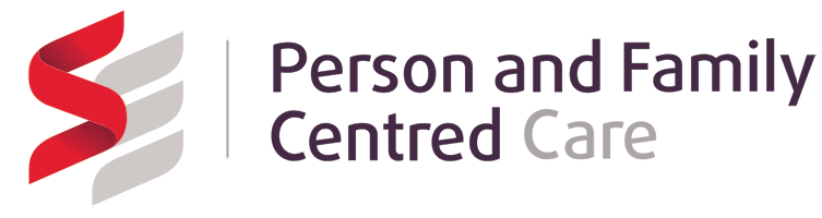 Person and Family Centred Care logo